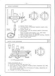 elna 500 sewing machine service manual models elna air
