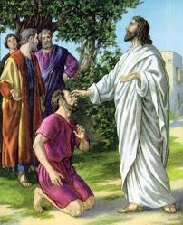 Christ Healing The Blind Liturgytools Net Pictures For The 4th Sunday Of Lent Year A 26