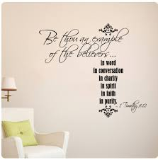 Bible Verses For The Home Decor by Amazon Com Be Thou An Example Of The Believers 1 Timothy 4 12