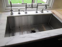 white undermount single bowl kitchen sink