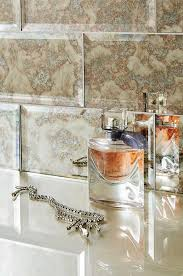 mirror tiles for bathroom walls antique mirror tile