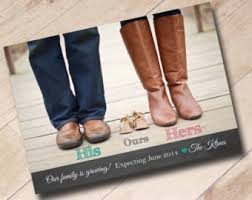 we re expecting announcement card pregnancy announcement