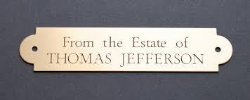 desk name plaque glass best home furniture decoration