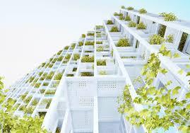 Residential Tower Inhabitat Green Design Innovation - Sustainable apartment design