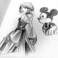 aqua disney ish style drawings kingdom hearts gallery kh13