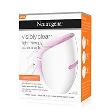 neutrogena acne light mask review neutrogena visibly clear light therapy acne mask amazon co uk beauty