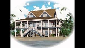 Homes On Pilings by Download Luxury Coastal House Plans Adhome