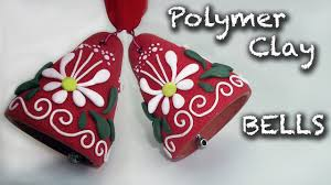 how to make an easy christmas decorations polymer clay bell