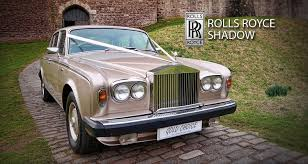rolls royce gold and white glasgow wedding cars service gold choice