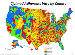 map usa bible belt uwec geog188 vogeler specific us religious maps best 25