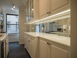 Mirrored Kitchen Backsplash Antiqued Mirror Kitchen Backsplash Kitchen Chicago By Karesh