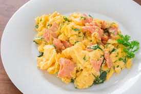How To Make Really Good Scrambled Eggs Smoked Salmon Scrambled Eggs Recipe Fresh Tastes Blog Pbs Food