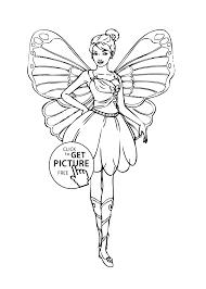 barbie coloring pages online free interesting merliah princess of