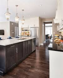 dark kitchen cabinets with light floors i have light kitchen cabinets with dark floors