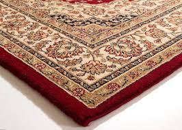 Red And Blue Persian Rug by Traditional Oriental Rug Tripolis Kirman Afghan Bochara Hatchlu