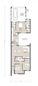 narrow lot house plans with rear garage centro exclusive a well designed rear garage plan to the