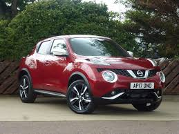 nissan juke flame red used nissan juke 2017 for sale motors co uk