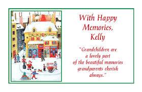 gift of grandchildren greeting card christmas printable card