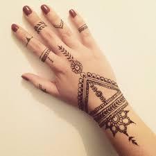 henna hand tattoo easy best henna design ideas