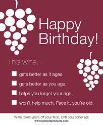happy birthday wine bottle label wine pinterest happy