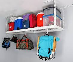 Costco Storage Cabinets Garage by Space Saver Saferacks Garage Hanging Shelves Garage Storage