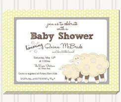 sheep baby shower best baby shower invitations which can be used as baby shower