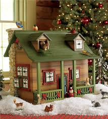 Advent Decorations Advent Cabin Indoor Holiday Decorations Plow U0026 Hearth