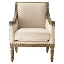 Beige Club Chair Home Decorators Collection Chairs Living Room Furniture The