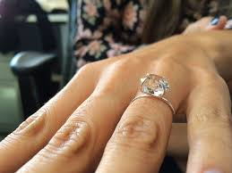 What Hand Does A Wedding Ring Go On by Best 25 Raw Diamond Rings Ideas On Pinterest Rings Raw Diamond