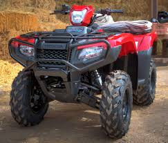 2018 honda rubicon 500 dct atv review of specs features