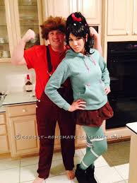 vanellope schweetz costume coolest wreck it ralph and vanellope schweetz