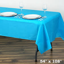 Plastic Fitted Tablecloths 54