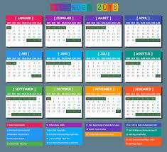 Kalender 2018 Hari Raya Idul Fitri Kalender 2018 Dan Hari Besar Libur Nasional