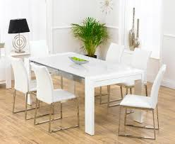 Gloss White Dining Table And Chairs Home Design Beautiful White Gloss Dining Table And 6 Chairs