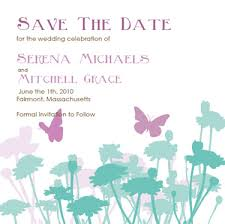 butterfly wedding invitations lavendar and turquoise invitation