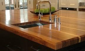 comptoir cuisine bois cuisines comptoir cuisine design bois 70 idées pour des