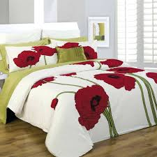 duvet covers hotel black white red embroidered egyptian cotton