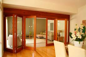 Bi Folding Glass Doors Exterior Interesting Fold Door Interior Photos Ideas House Design
