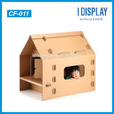 Cardboard House 100 Recyclable Material Kids Cardboard Houses For Sale Buy Kids