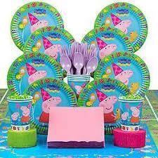 peppa pig birthday supplies 89 best peppa pig birthday party ideas images on peppa