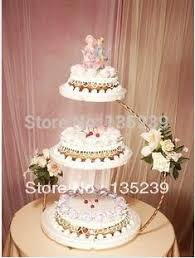 wedding cake display 3 tier iron wedding cake stand 30 60cm kitchen accessories cake