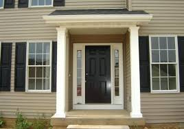 Awnings Cost Front Door Gorgeous Front Door Overhang For House Ideas Front