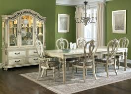 dining room table with china cabinet white set cheap