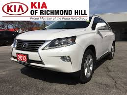 2013 white lexus rx 350 for sale used 2013 lexus rx 350 for sale richmond hill on