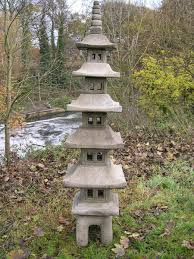 7 pagoda temple garden ornament berkshire
