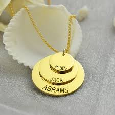 Mom Necklaces With Children S Names Necklace Flash Picture More Detailed Picture About Family Name
