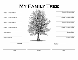family tree template exol gbabogados co