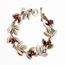 silver bracelet designs images Pohutukawa silver bracelet by nz jewellery designer martyn jpg