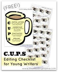 use a checklist a simple editing strategy week 10