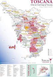Montepulciano Italy Map by Tuscan Wine U0026 Food Map Life Is Grape In Tuscany Dream Trip